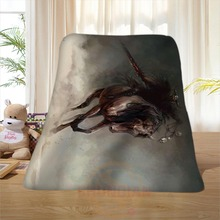 P#85 Custom Horse#4 Home Decoration Bedroom Supplies Soft Blanket size 58×80,50X60,40X50inch SQ01016@H+85