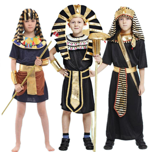 2018 Kids Egypt Pharaoh Costume Children Boys Cosplay Costumes Halloween Carnival Fancy Dress Party Decoration Purim  sc 1 st  AliExpress.com & 2018 Kids Egypt Pharaoh Costume Children Boys Cosplay Costumes ...