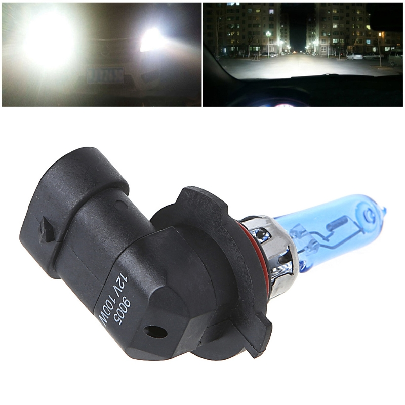 New 1 PC 9005/HB3 6000K 100W White Gas Headlight Light Lamp Bulb