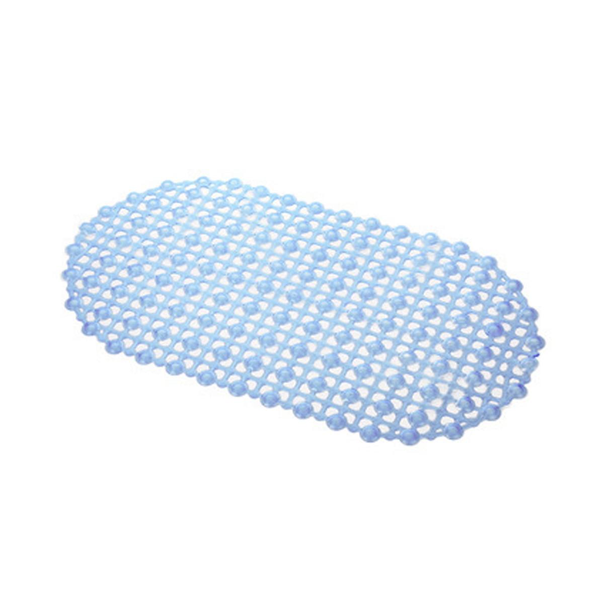 PVC Water Proof Drops Oval Anti Slip Bathroom Shower Mat