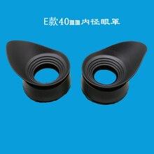 2 pcs 40mm Inner Diameter Bioncular Microscope Eyepiece Rubb