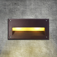 LED Recessed Wall Light Outdoor Waterproof IP54 Modern Wall Lamp For Entry Art Home Decoration Sconce