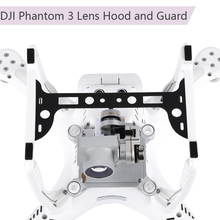2 Trong 1 Ống Kính Máy Ảnh Hood Che Nắng Sợi Carbon Gimbal Vệ Cho DJI Phantom 3 Máy Bay Không Người Lái Phụ Tùng Máy Ảnh bộ Ổn Định Bảo Vệ