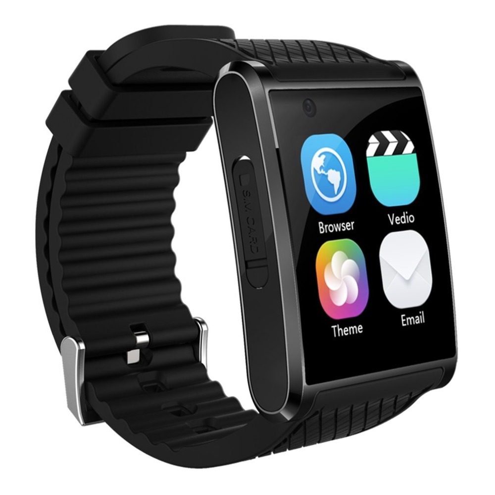 2018 X11 Bluetooth Smart Watch Support Wifi Arc Screen GPS SOS Call HD Video Camera Pedometer Watch Phone Android 5.1 1 6 screen stainless steel bluetooth 3 0 sim camera hd dv recording pedometer 4g memory smart watch phone security msn p20