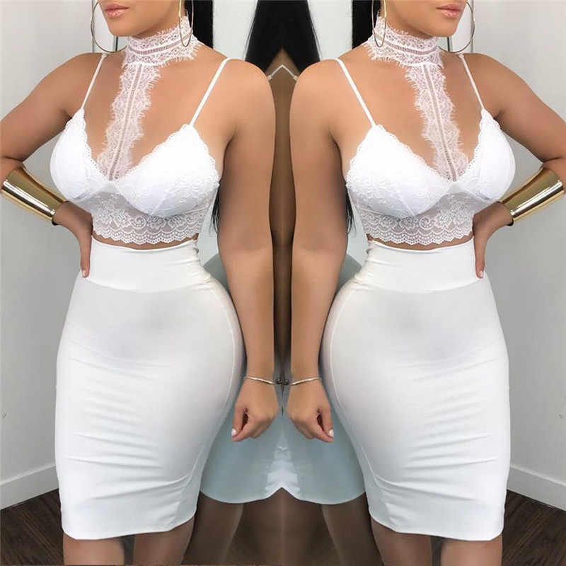 355af439fb8c0 Detail Feedback Questions about New Sexy White Lace Clothes Set ...