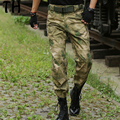 Anti-Scratch Cargo Pants Men Multi-pockets Camouflage Jungle Military IX7 Tactical Pants #170215