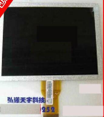 original new free shipping 8 inch Q08009-602 group Chuangqi ultra-thin LCD screen 50 pin 4:3 free shipping original 9 inch lcd screen cable numbers kr090lb3s 1030300647 40pin