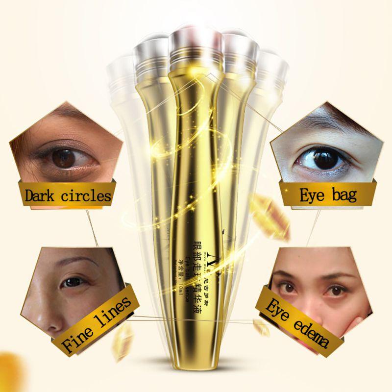 Roll-on Eye Cream Moisturizer Anti-Dark Circle Wrinkle Firming Maquiagem Moisturizing Fashion Make Up Maquillaje Beauty 4