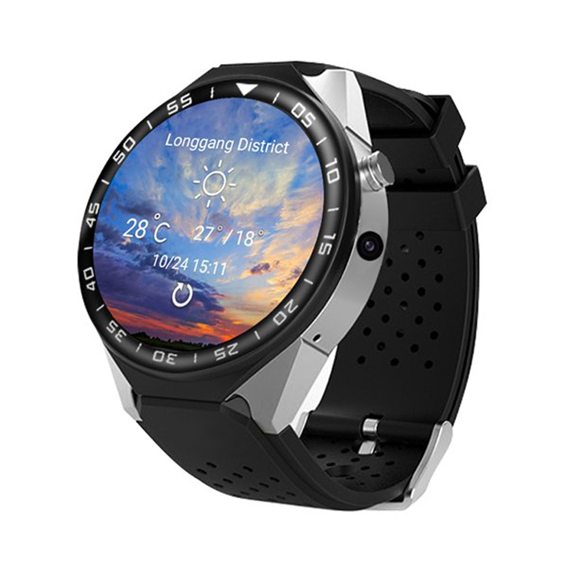 все цены на ZGPAX S99C Smart Watch Android 5.1 OS 1GB Ram 16GB Rom 5.0 MP MTK6580 Quad Core 3G GPS Wristwatch 1.39 inch Heart Rate Pedometer онлайн