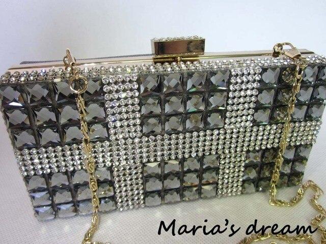 The Best Gift For Girl Elegant Diamante Bag Famous Brand Women