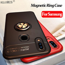 Luxury Magnetic Ring Case For Samsung Galaxy S10E s10 e Silicone Car Holder S10 Plus Shockproof