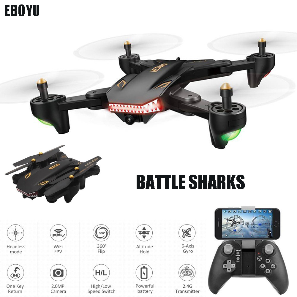 Updated VISUO XS809S RC Drone w/ 720P Wide Angle Camera Wifi FPV Foldable Drone One Key Return Altitude Hold RC Quadcopter DroneUpdated VISUO XS809S RC Drone w/ 720P Wide Angle Camera Wifi FPV Foldable Drone One Key Return Altitude Hold RC Quadcopter Drone