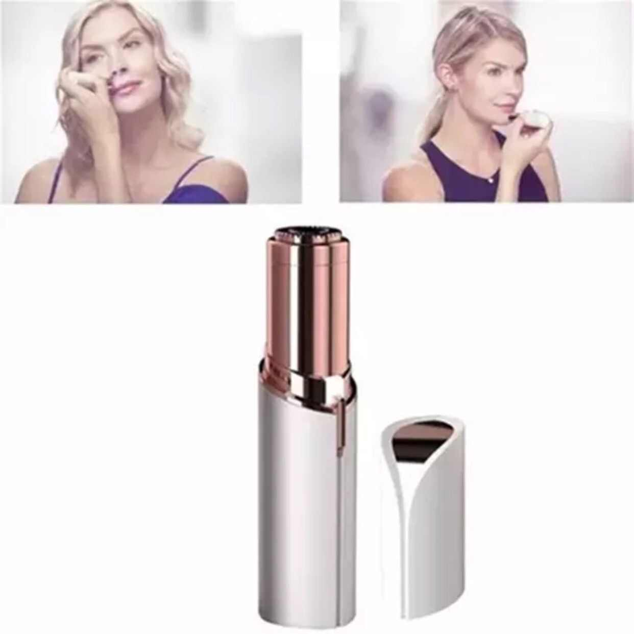 USB charging women facial hair remover epilator female shaver lip chin face hair removal compatible for finishing touch flawless