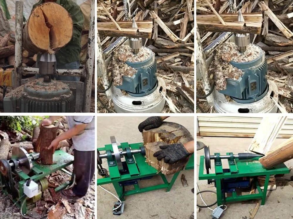 Log Splitters Patio, Lawn & Garden SUIE Splitting Wood Drill Bit ...