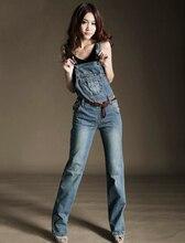 Нагрудник комбинезон для женщин 2016 новинка джинсовой нагрудник брюки промывают винтажный стиль бесплатная доставка ( створки исключены )