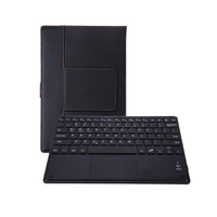 10m Universal Flip Bluetooth Keyboard Touch Pad With Protective Leather Case Shell Universal For 9 10