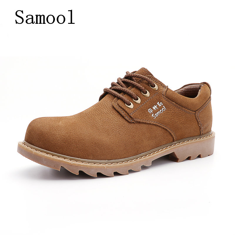 2017 Autumn Winter Men Shoes Genuine Leather Casual Lace Up Men's Flats Style Comfortable  Dress Work Shoes Big Size 37-47 genuine leather men casual shoes plus size comfortable flats shoes fashion walking men shoes