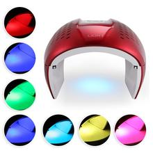 Genuine 7-Color LED Red Blue Light Therapy PDT Removal Machine Face Skin Rejuvenation Care Tools