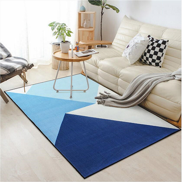 Simple Design Soft Nylon Delicate Large Carpets For Living Room