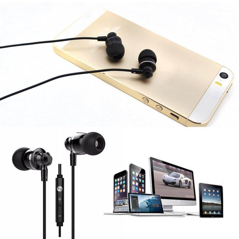 Universal Mic Earphone In Ear Earphones Stereo Headset Bass Earbuds For Phones A57