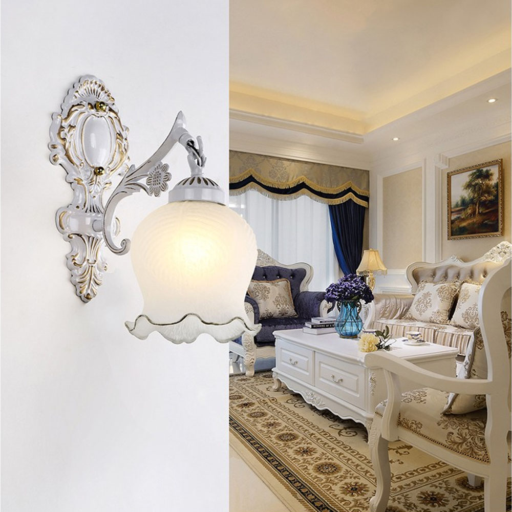 Bedside lamps wall mounted - The New Led Modern Wall Sconce E27 110v 220v Single Head Without Switch Bulb Vintage