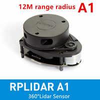 Slamtec RPLIDAR A1 2D 360 grad 12 meter scannen radius lidar sensor scanner für hindernis vermeidung und navigation von roboter