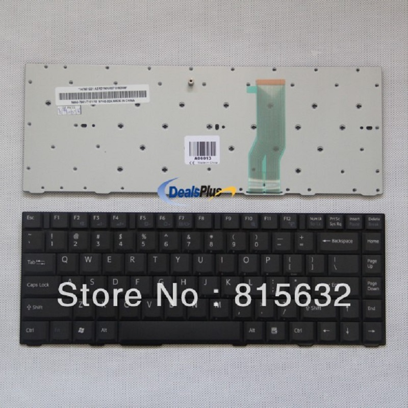 NEW For SONY VGN-FJ series Laptop us Keyboard 147951221 black new notebook laptop keyboard for sony vgn bz vgn bz11xn series sp layout