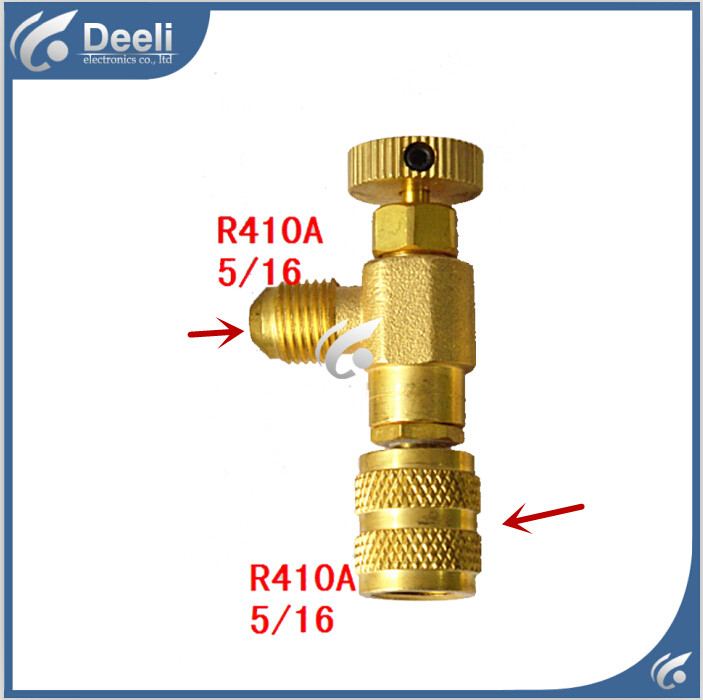 2pcs/lot new Air Refrigeration Charging Adapter refrigerant retention control valve Air conditioning charging valve R410A 5/16 hs 1221 hs 1222 r410a refrigeration charging adapter refrigerant retention control valve air conditioning charging valve