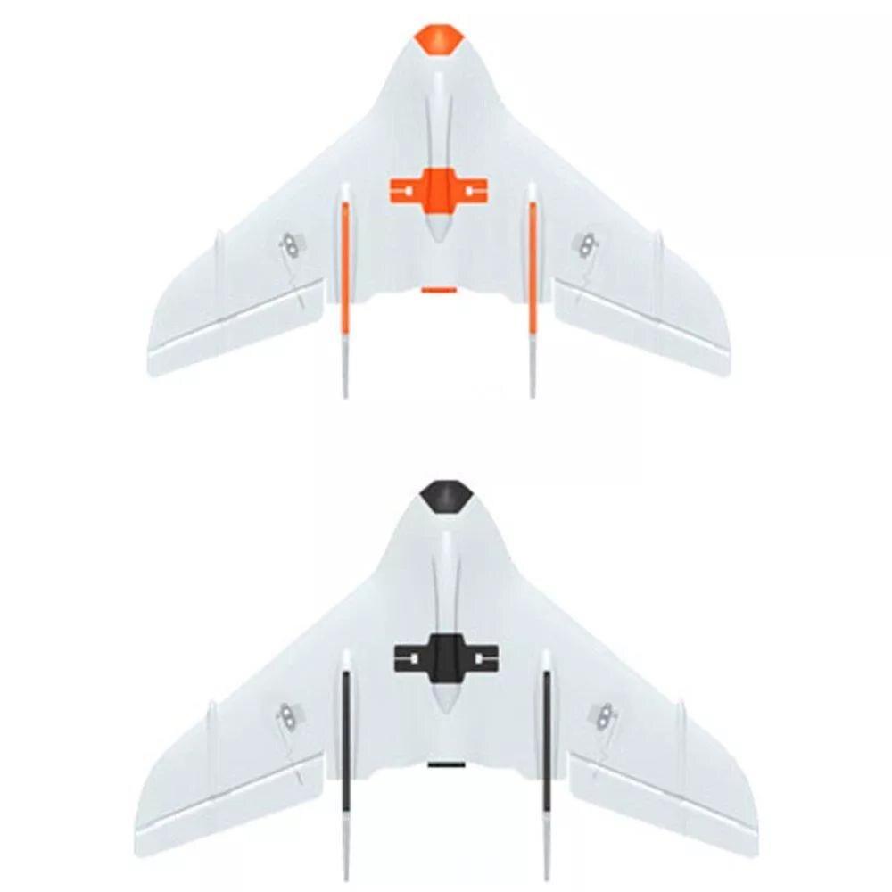 LeadingStar 2 pièces KINGKONG/LDARC MINUSCULE AILE 450X431mm Envergure PPE FPV RC Avion Volant Aile Ailes Delta KIT