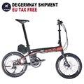 E велосипед электрический велосипед германия доставка электрический велосипед мини e-bike Складной Город путешествия Интеллектуальный Элект...