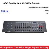Free Ship 2XLot NEW 192 DMX Controller Stage Lighting DJ Equipment DMX Console For Led Par