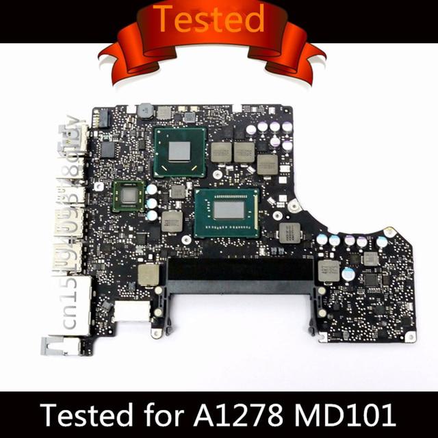 "Tested Motherboard for Macbook Pro 13"" Laptop Logic Board  i5 2.5GHz i7 2.9GHz A1278 Motherboard 820-3115-B 2012 MD101 MD102"