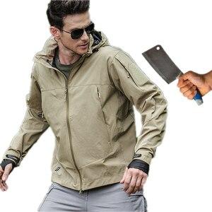 Image 1 - Auto defesa segurança anti corte anti facada jaqueta masculina guarda costas discrição defesa polícia táticas pessoais velo com capuz blusa topos