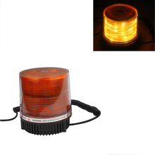 12V Car Truck Round LED Emergency Beacon Strobe Light Magnetic Warning Lamp Safety Light Yellow стоимость