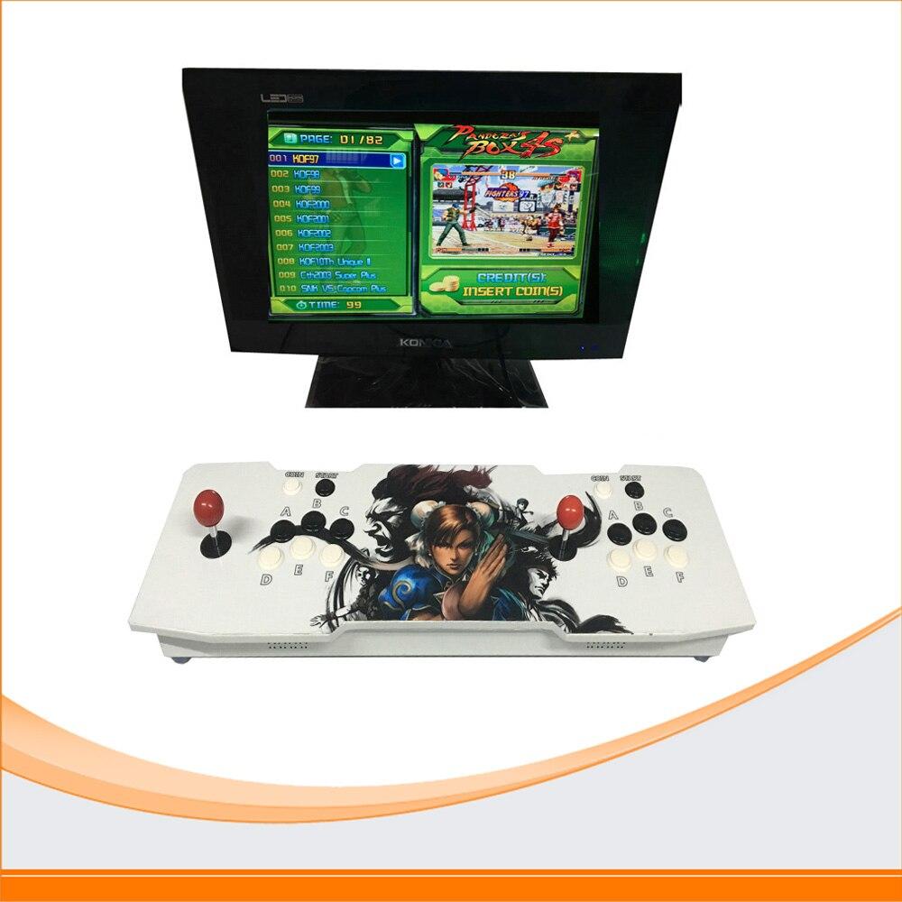 все цены на  HDMI/VGA Pandora box 4S/Hero of Storm arcade Joystick game consoles with jamma multi games 815 in 1 game pcb board controller  онлайн