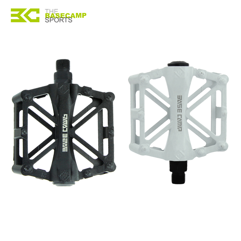 BASECAMP Bicycle Pedals Mountain font b Bike b font MTB Road Cycling Alloy Pedal Vintage Bearing