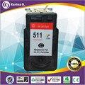 Single Color Generic Ink Cartridges CL 511 For Canon IP2700 MP250 MP230 EU market