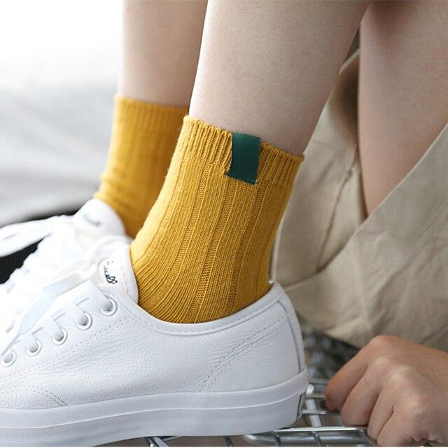 1Pair Warm Women Socks Striped 3D Socks  4