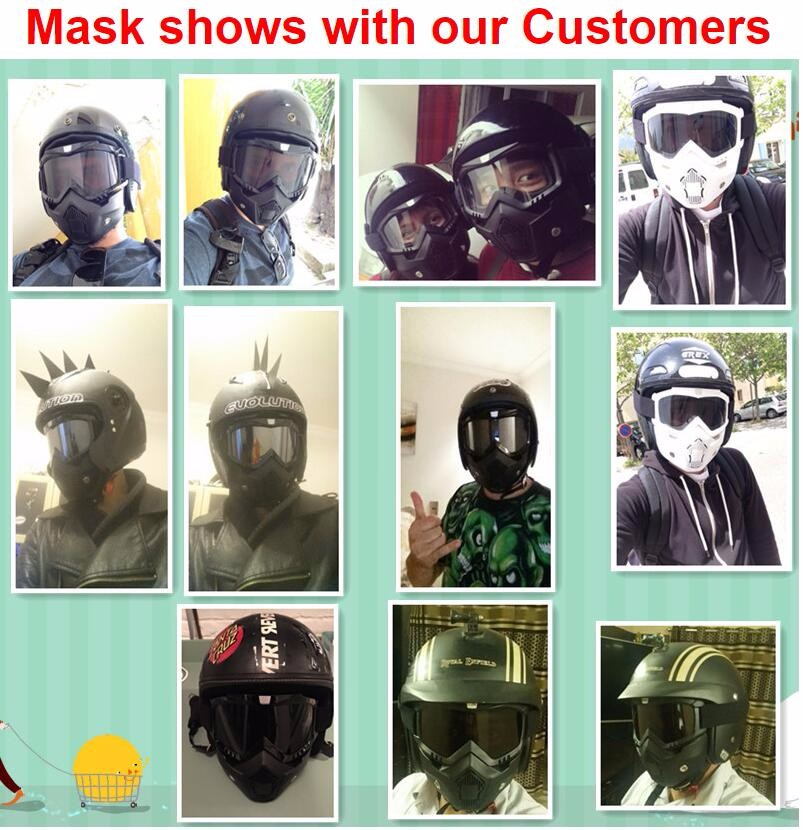 Mask SHow with customer
