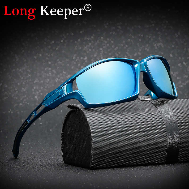 Long Keeper Newest Polarized HD Lens Sunglasses For Male Cool Men Driving Goggles Eyewears Mirror lunette de soleil KP1002