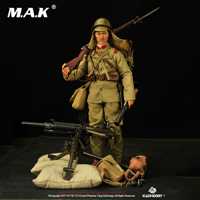 For collection Japanese Army a common soldier in World War II 1/6 Scale Figure 12 Full Set Action Figure