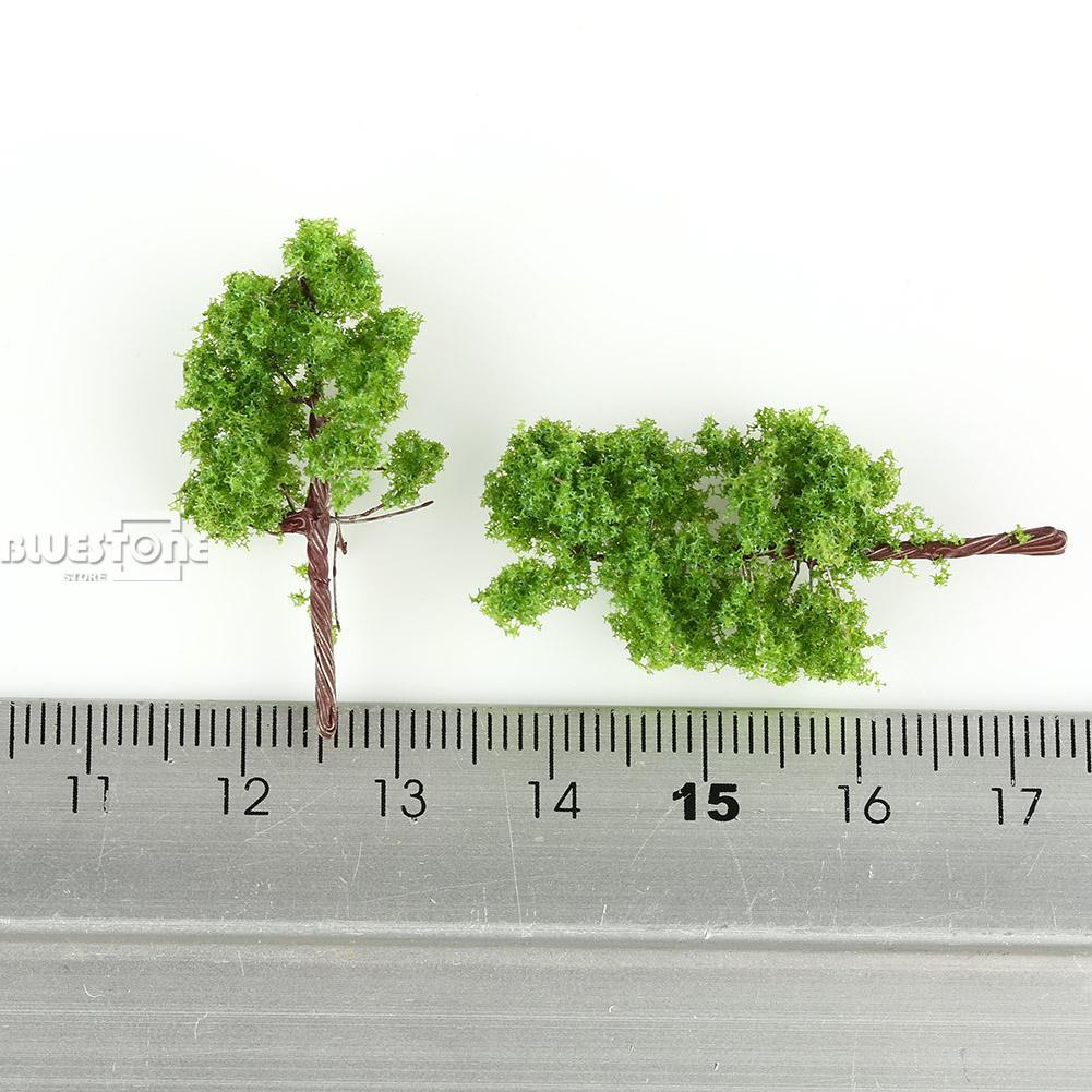 N Z miqyaslı düzülüş üçün isti 100 ədəd Yaşıl Model - Uşaq konstruktorları - Fotoqrafiya 3