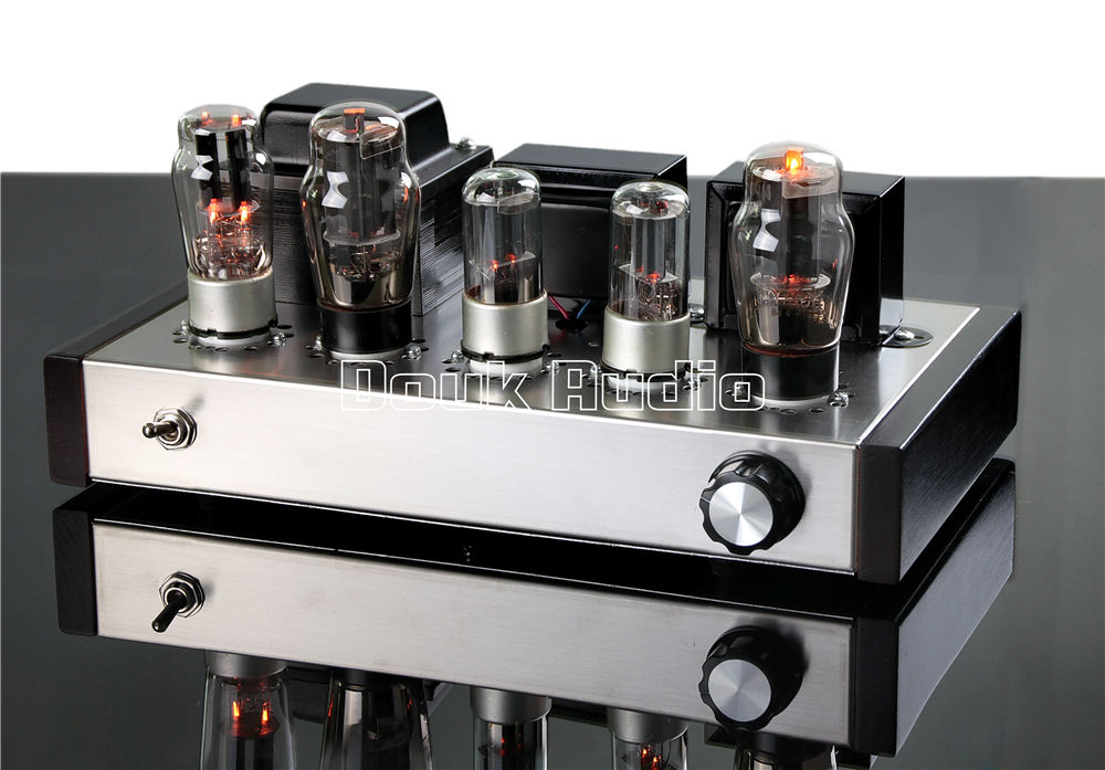 Music Hall Latest 6N8P+6P3P HIFI Single-Ended Pure Class A Tube Amplifier Vacuum Power Amp 2.0 Stereo Handmade Amp douk audio pure handmade mini 6p3p vacuum tube amplifier 2 0 channel stereo hifi class a power amp 5w 2