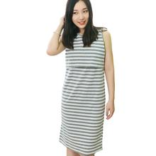 Летнее и зимнее хлопковое платье без рукавов для беременных