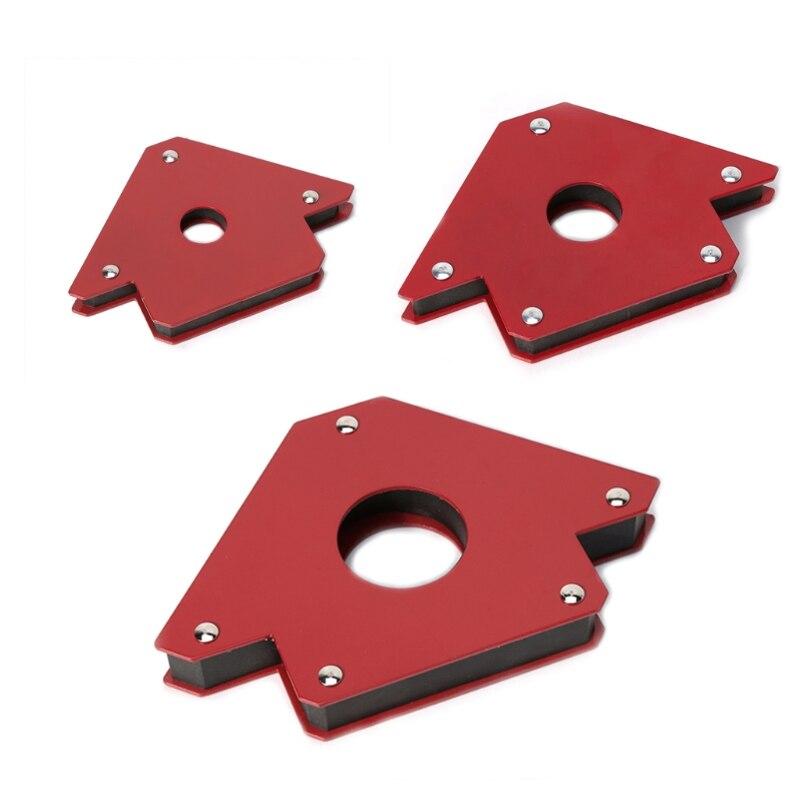 25/50/75Lb Magnetische Pfeil Schweißen Halter Clamp 3 Winkel Arc Schweißer Löten Werkzeug