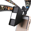 Visión estéreo 3d externa mini fotografía lente de la cámara para samsung para htc para huawei smartphone universal lente para iphone 5 6 7