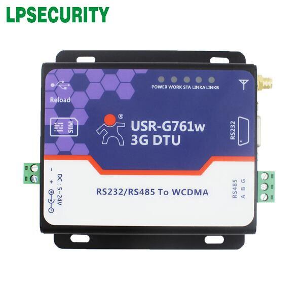 5-24 V Usr-g761w Serielle Rs485 Rs232 Zu 3g Data Converter 3g Wcdma Module Und Modems Angenehme SüßE
