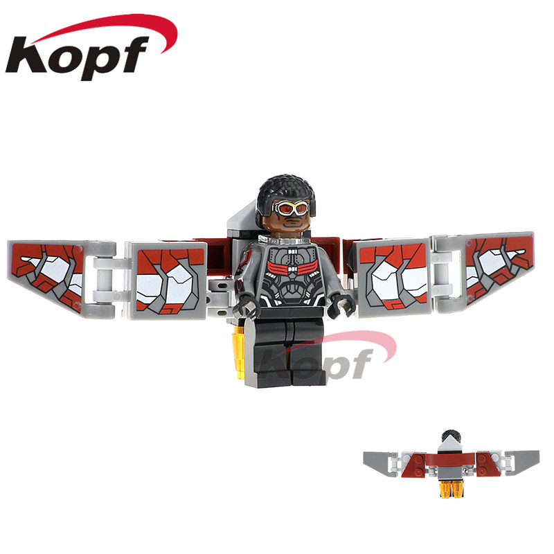 Building Blocks Single Sale Infinity War Figures Falcon Iron Man Vision Doctor Stranger Super Heroes Toys for children XH 829