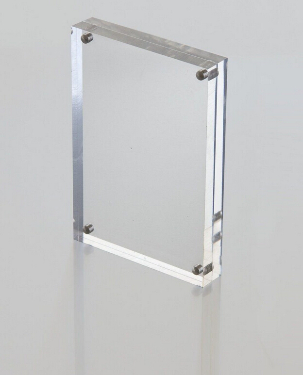 A5 Horizontal Version Acrylic Tabel Display Stand Price Tag Sign ...