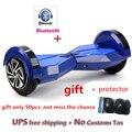 Gyroscooter 8 pulgadas Bluetooth hoverboard auto equilibrio eléctrico Scooters monopatín Skywalker equilibrio rueda LED hover bordo